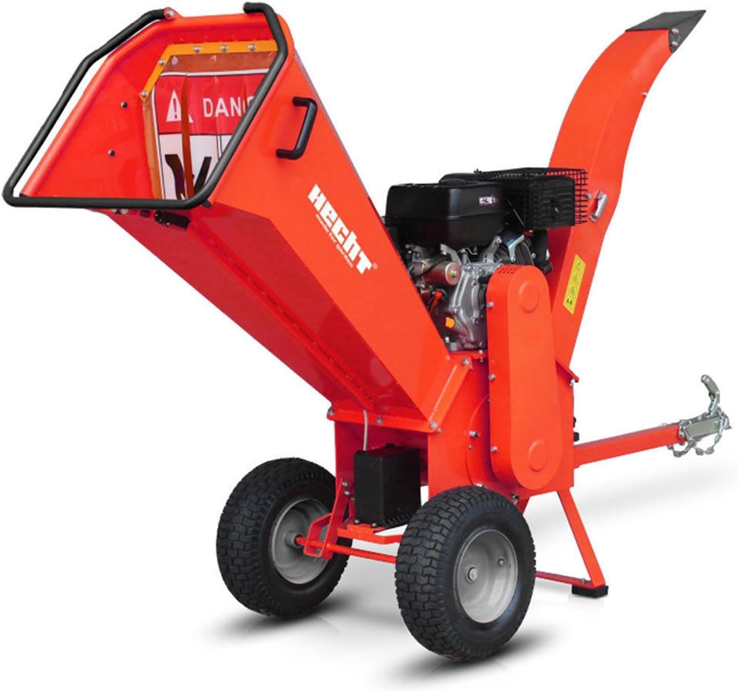 Trituradora de madera Hecht 6642 de gasolina, para jardín (11.2 kW / 15 CV): Amazon.es: Bricolaje y herramientas