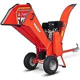 HECHT Benzin-Häcksler 6642 Gartenhäcksler Holz-Schredder (11,2 kW 15 PS)