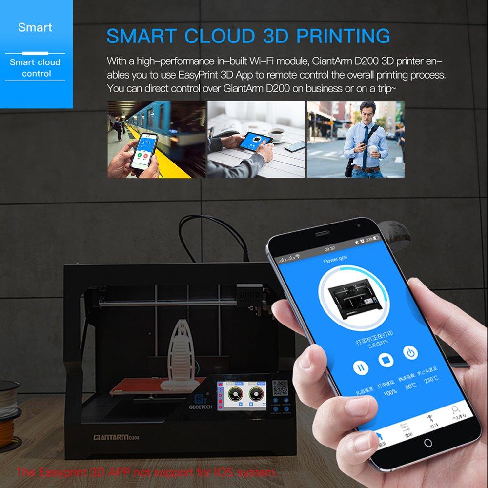 GIANTARM D200 Impresora 3D con gran volumen de impresión ...