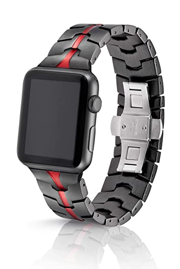 Amazon.com: JUUK - Correa para Apple Watch de 1.654 in ...