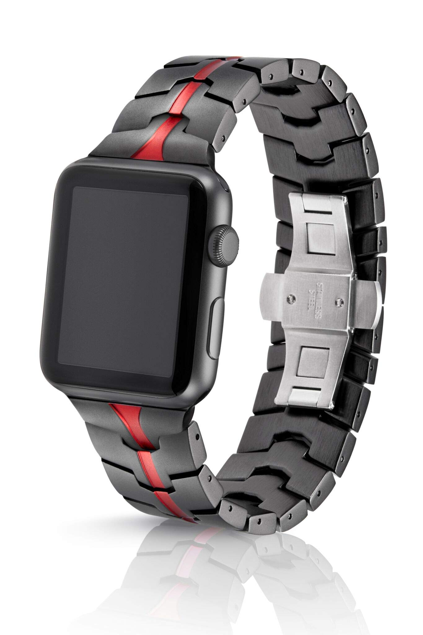JUUK 42mm Vitero Ruby Grey Band for Apple Watch