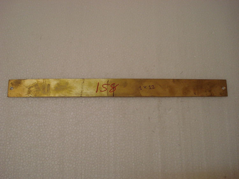 158 Marine Brass Door Sign Crew/'S Bath Room Boat//Nautical 12 x 1 Inches