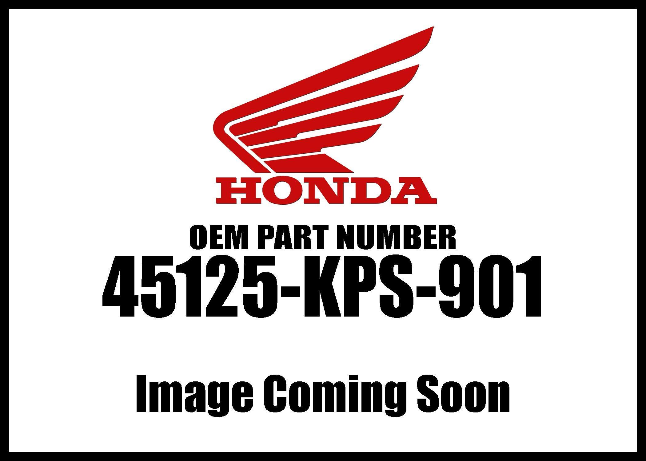 HONDA 45125-KPS-901 HOSE, FR. BRAKE