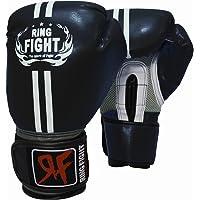 Ring Fight Pro Boxing Gloves (Black)