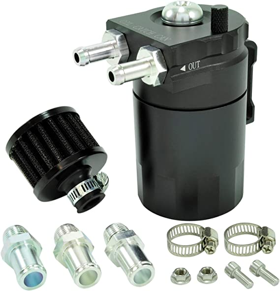 Cnc Oil Catch Can Tank Alu M Filter Öl Auffangbehälter Ölsammler Ölbehälter Pcv Auto