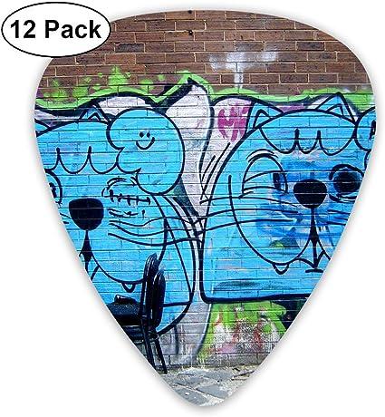 Púas de guitarra Anticso personalizadas, púa de guitarra de perro ...