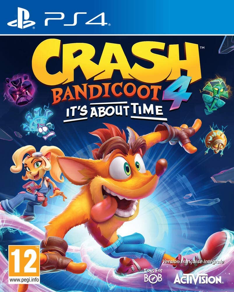 Crash Bandicoot 4 [PS4] : it's about time | Activision