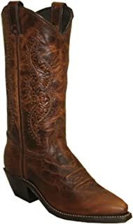 product image for Abilene Women's Hand Tooled Inlay Cowgirl Boot Snip Toe