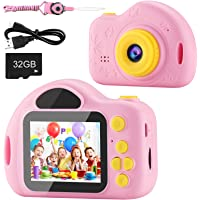 AIMASON Kids Camera, Digital Video Camera for Kids with 32GB SD Card Children Camera Birthday/Christmas/New Year Gifts…
