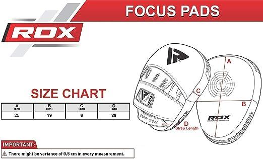 Xnature Gants de Boxe Tha/ïlandais de Boxe dentra/înement de Kickboxing Pad de Frappe de Boxe Mitaines de Frappe