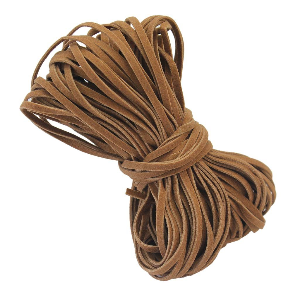 Rouleau 2mm Fil Cordon Corde Cuir PU Textile Bricolage Perle Bracelet Collier