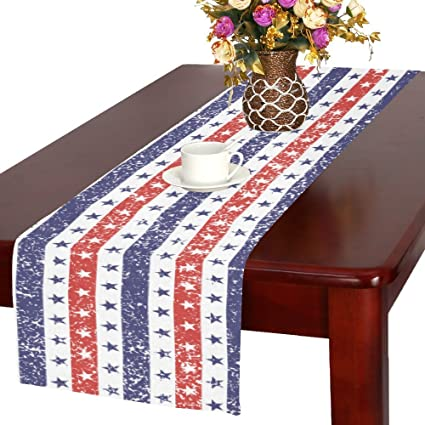 4th Of July Table Linen 4 9 Kaartenstemp Nl