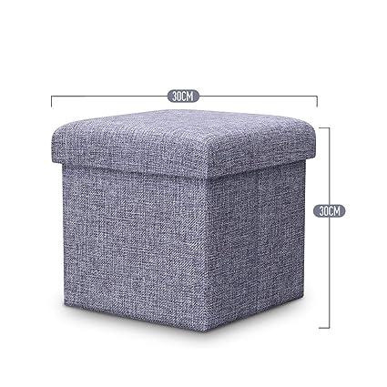 Amazon.com: KXBYMX - Taburete de almacenamiento multifunción ...