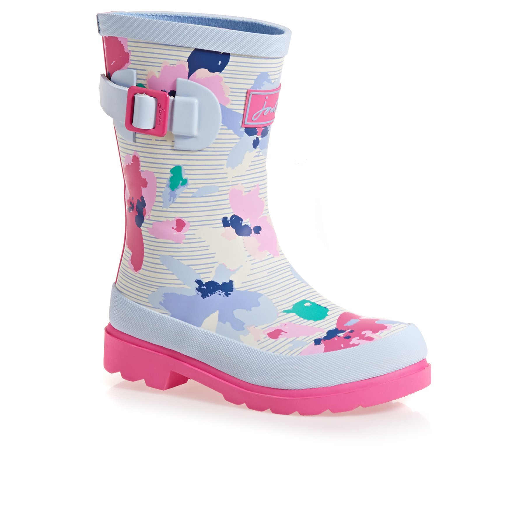 Joules Yjnrgirlswly Boots 11 M US Little Kid Lily Pond Stripe