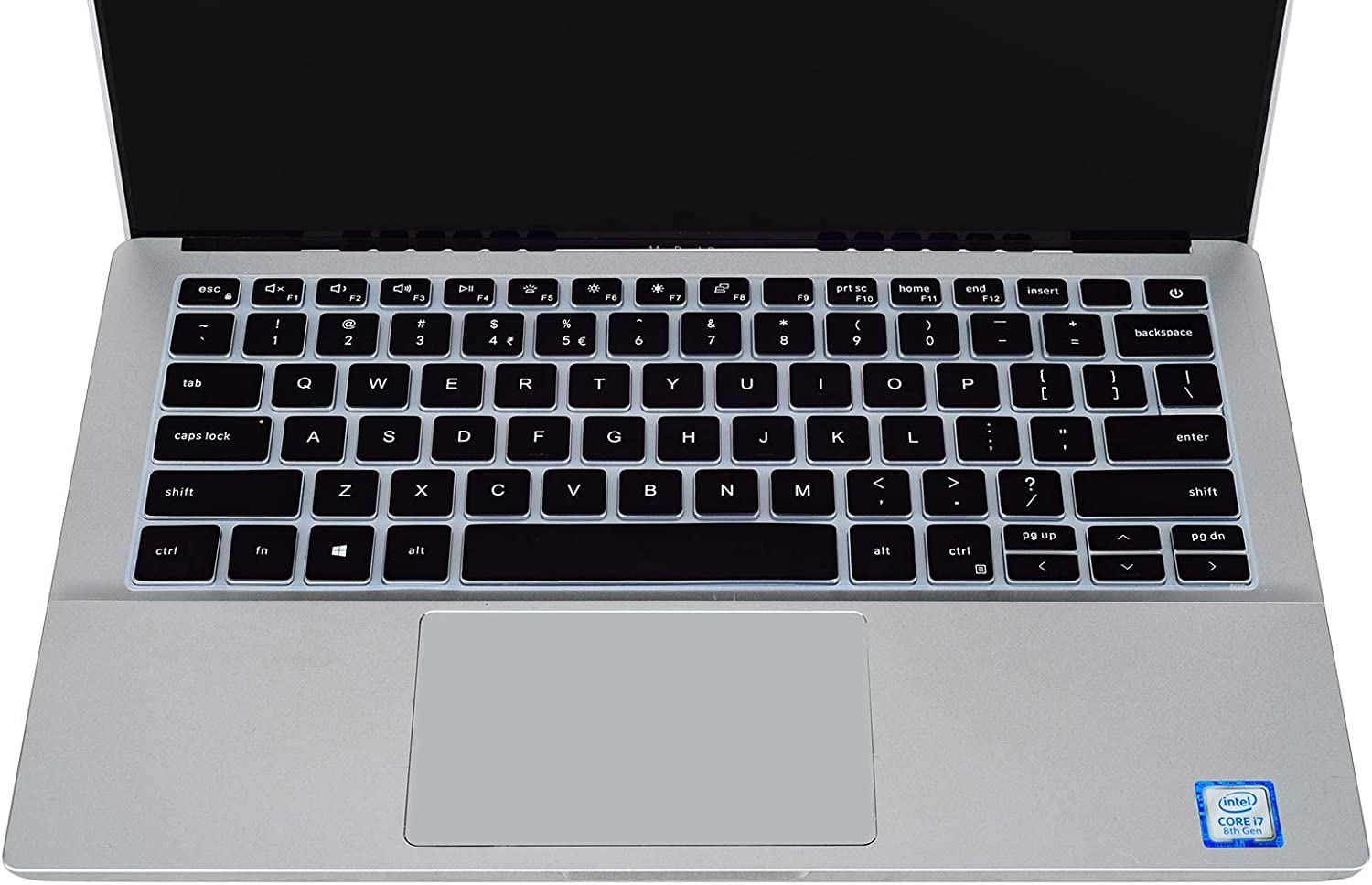 iKammo Keyboard Cover Compatible with 2020 2019 Dell Inspiron 13 5390 5391 7390 7391 7306/Dell Inspiron 14 5490 5493 5498 5405 5406/Dell Vostro 13 14 5301 5401 5402 Keyboard Cover,Black