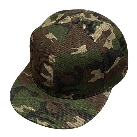 Cappello Berretti da Baseball Amazingdeal365 Cappelli Mimetici Unisex  Regolabile Camo Baseball Tappi (Verde dell  aa50023edb64