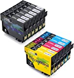 OfficeWorld Replacement for Epson T1291 T1292 T1293 T1294 (T1295) Ink Cartridges Compatible with Epson Stylus SX425W SX235W SX435W SX445W SX535WD Epson Workforce WF-3520 WF-3530 WF-3540