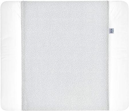 Julius Zöllner Wickelauflage Softy 75 x 85 Tiny Squares Grey