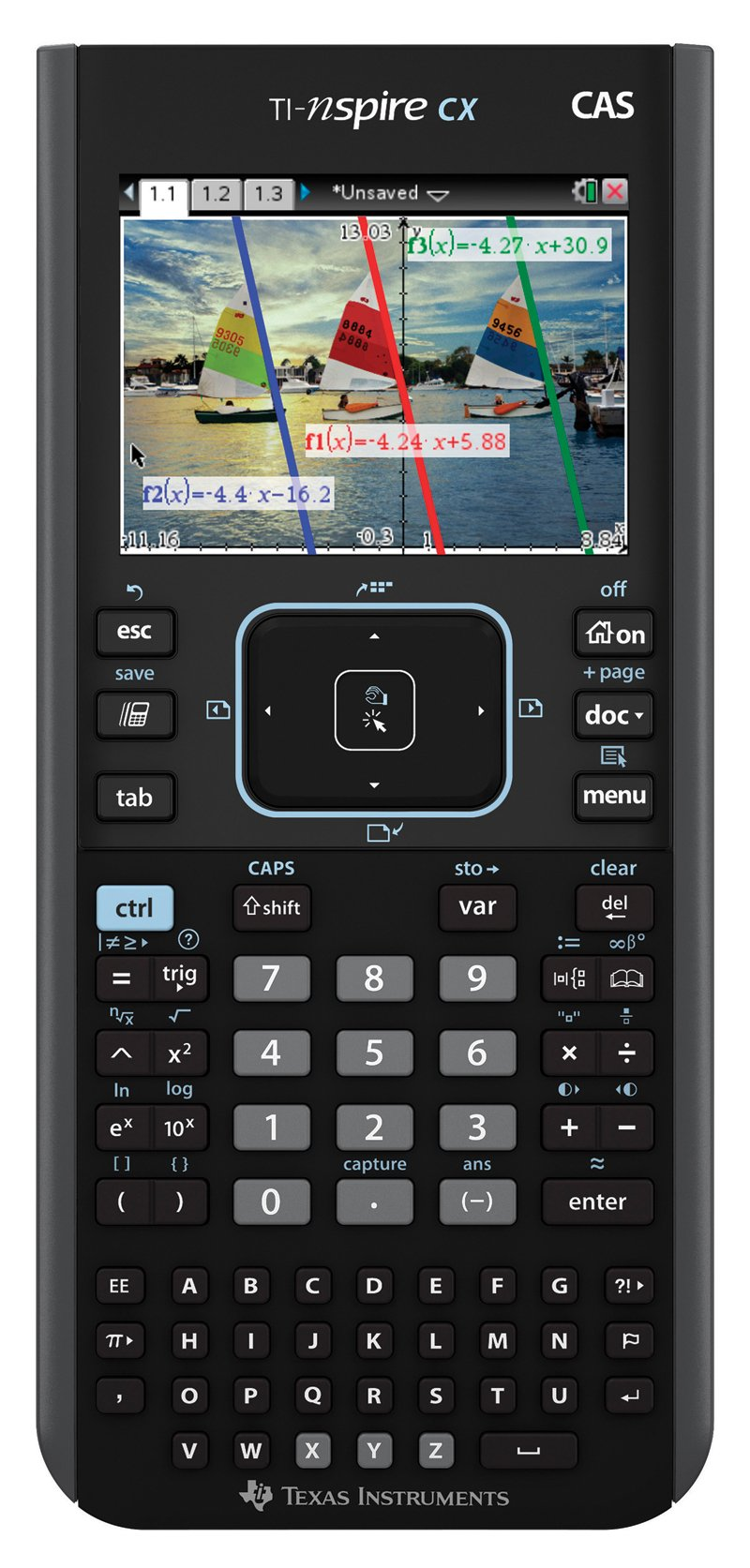 Texas Instruments Nspire CX CAS Graphing Calculator by Texas Instruments