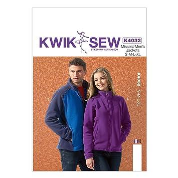 Kwik Sew Muster K4032 S/M/L/XL, groß, für Herren/Jacken-Multi Color ...