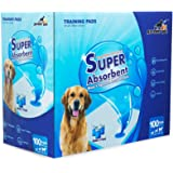 Gardner Pet 100 Pack Dog Pee Pads 24 x24 inches ,Large Training Pads for Puppy Housebreaking with Super Absorbtent