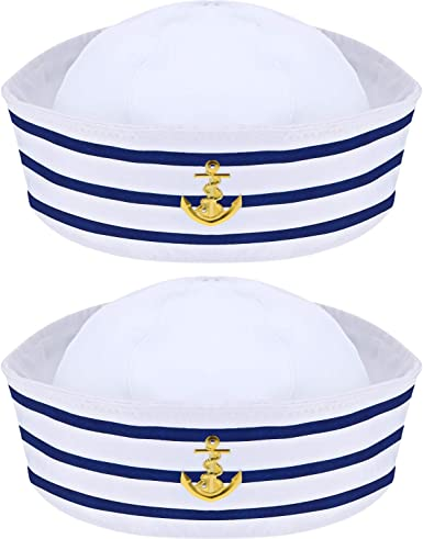 US Navy Sailor Hat dunkelblau