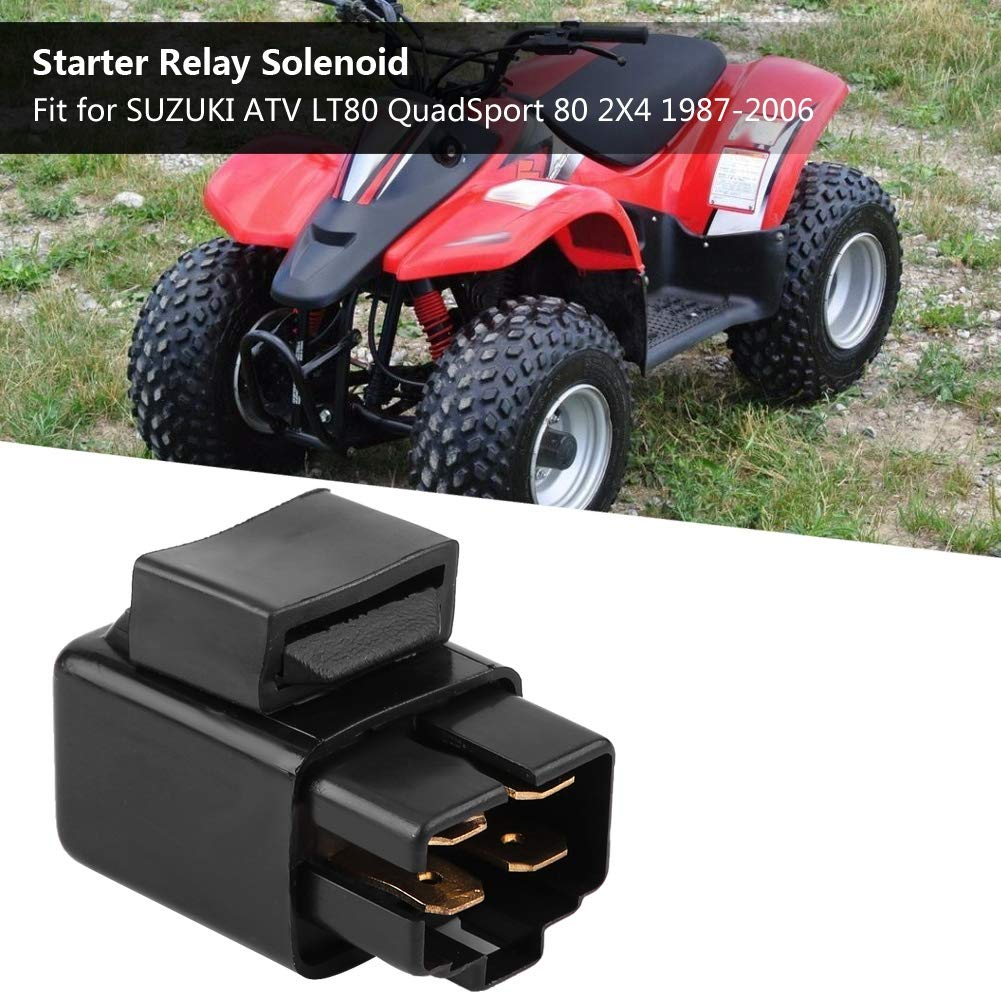Cuque ER2287RE146DM Starter Relay Solenoid for Suzuki ATV LT80 QuadSport 80 2X4 1987-2006