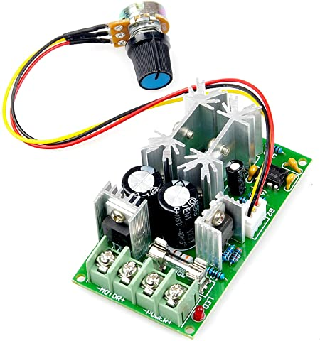 15A DC Motor Speed Control PWM Controller New 6V-12V-24V-36V-40V-60V-90V