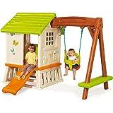 Smoby 810601Swing Set Playhouse