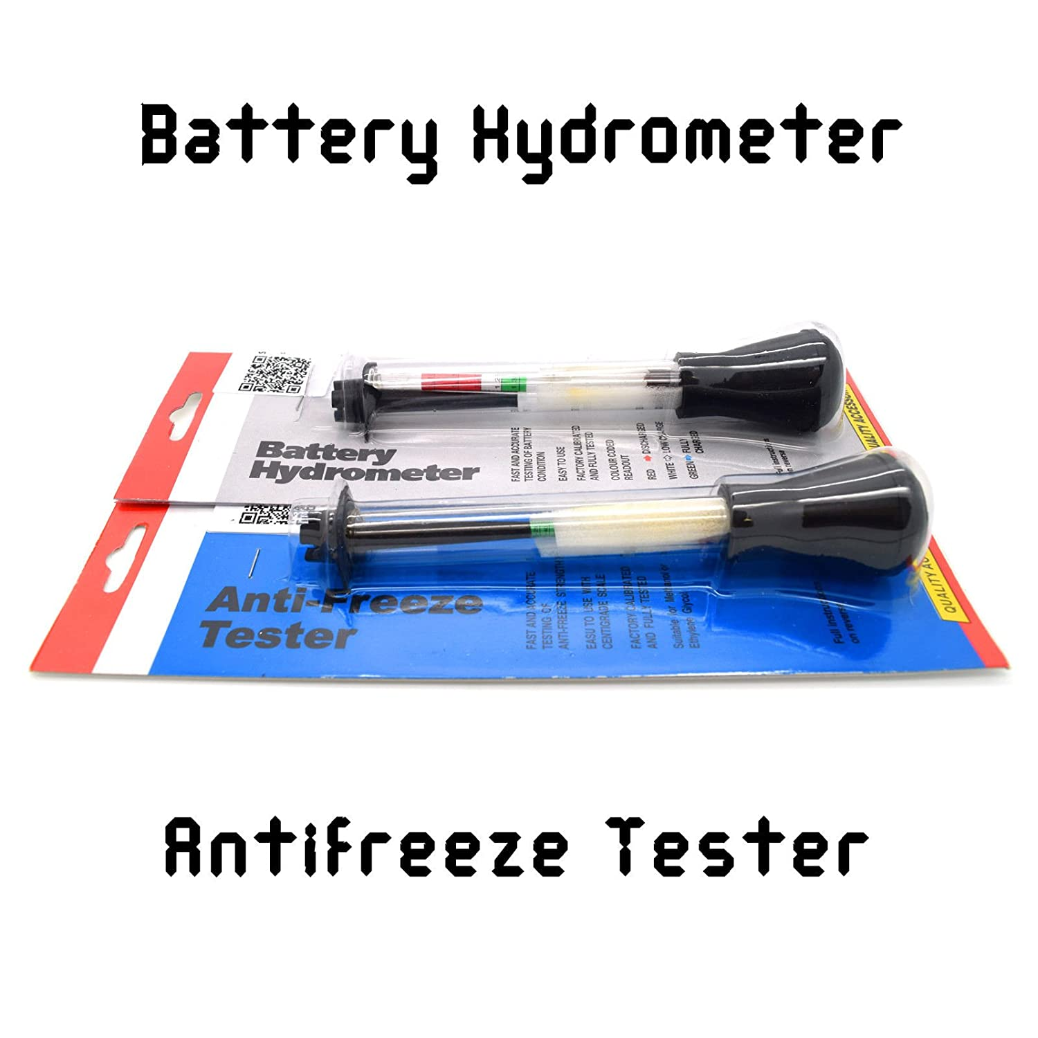 Battery Hydrometer Tester Electrolyte Level Testing Tool Diagnostic Accessory