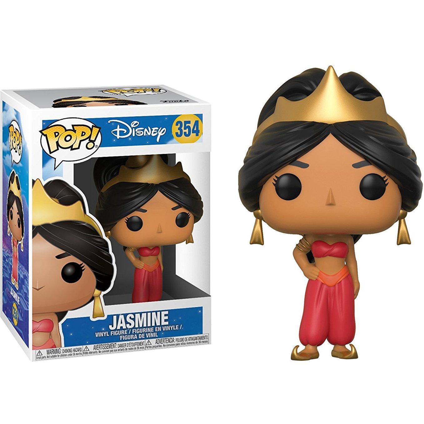 Funko Jasmine POP 1 Classic Disney Trading Card Bundle #354 BCC9PI01 Disney x Aladdin Vinyl Figure