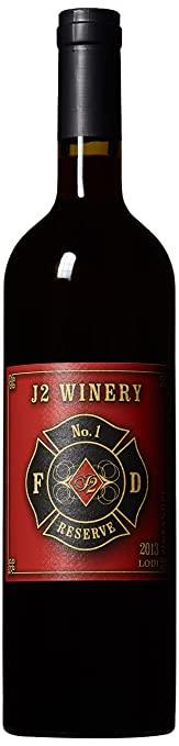 2013 J2W Fire Fighters Lodi Gill Creek Ranch Old Vine Zinfandel 750 mL