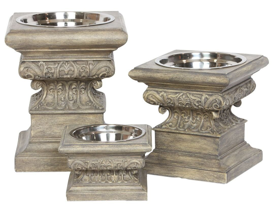 Dog Bowls: Adour Raised Collection, Large