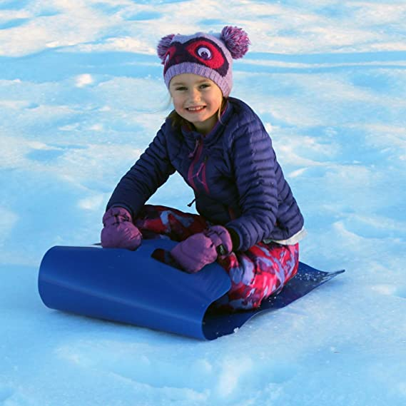 Details about  /Flexible Flying Carpet Lightweight Roll Up Snow Sled Slider Portable Rolling