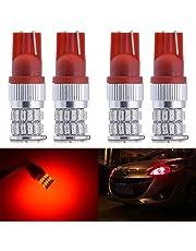 KaTur 2Pcs 450Lumens T15T10921912168175194Ampoules LED 7.5W Haute Puissance 301436smd Feux de stationnement Sauvegarde Inversée Ampoule LED de Plaque d'immatriculation 12–24V Blanc 6000K
