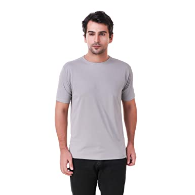 505e51ca6 Concepts Galatea Light Grey Round Neck Dri-Fit Tshirt: Amazon.in: Clothing  & Accessories