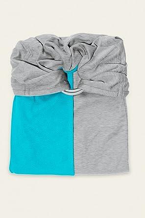 je porte mon bébé Petite Echarpe sans Nœud Turquoise Chiné  Amazon.fr  Bébés    Puériculture 69bd647d5ed