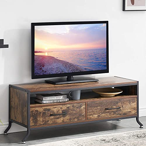 Cheap VECELO Modern TV Stand Entertainment Center Media Console Living Room,Industrial Table modern tv stand for sale