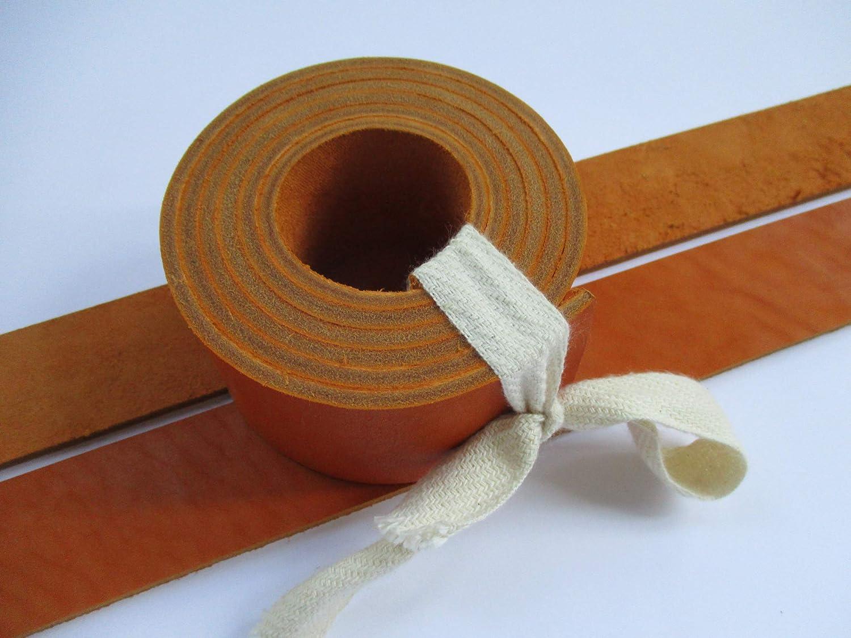 9 oz 51-55 1 1//5 30mm. Ginger Genuine Natural Leather Belt Blank Strip Strap Band.