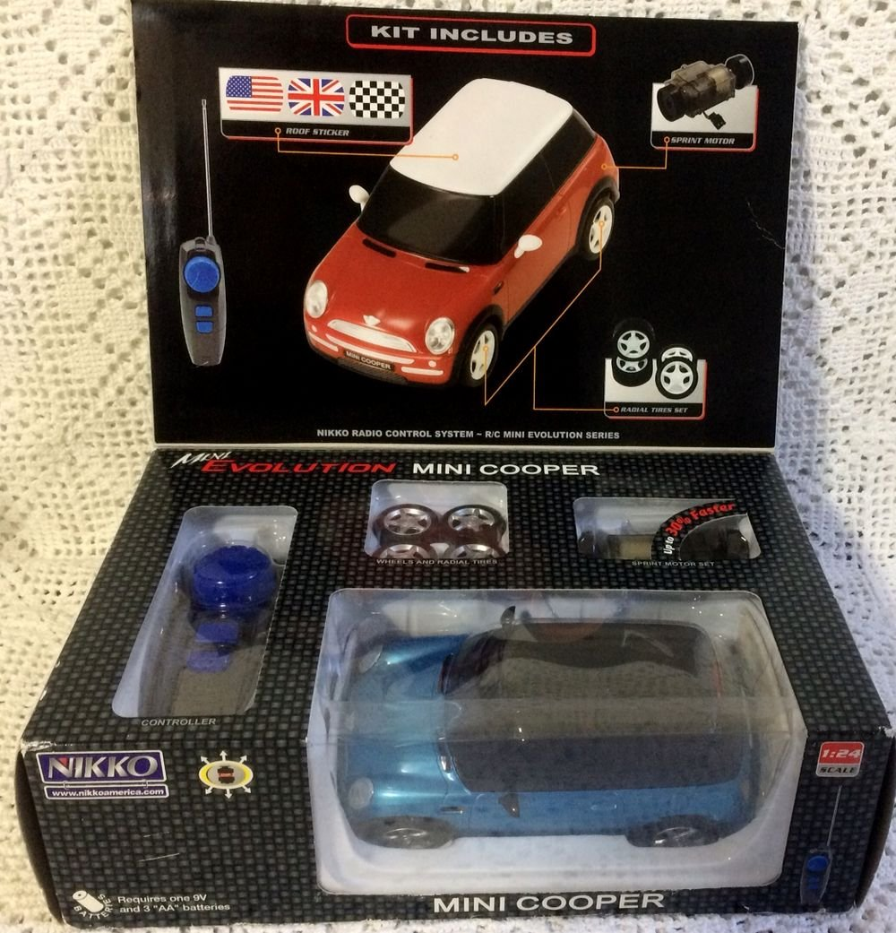 Amazon.com: Mini Evolution, Mini Cooper R/C Vehículos: Toys ...