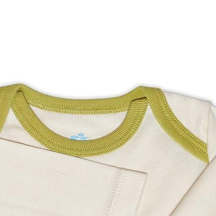 Mama Ocllo - Bebé Camisa de Encaje, Bio Pima Algodón,Americano Escote,Ropa