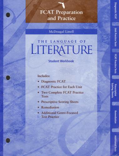 FCAT Preparation And Practice The Language Of Literature