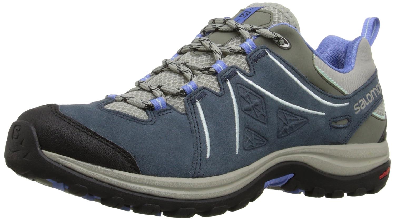 Salomon Women's Ellipse 2 LTR W Hiking Shoe B00ZLN4B7E 7 B(M) US|Titanium/Deep Blue/Petunia Blue