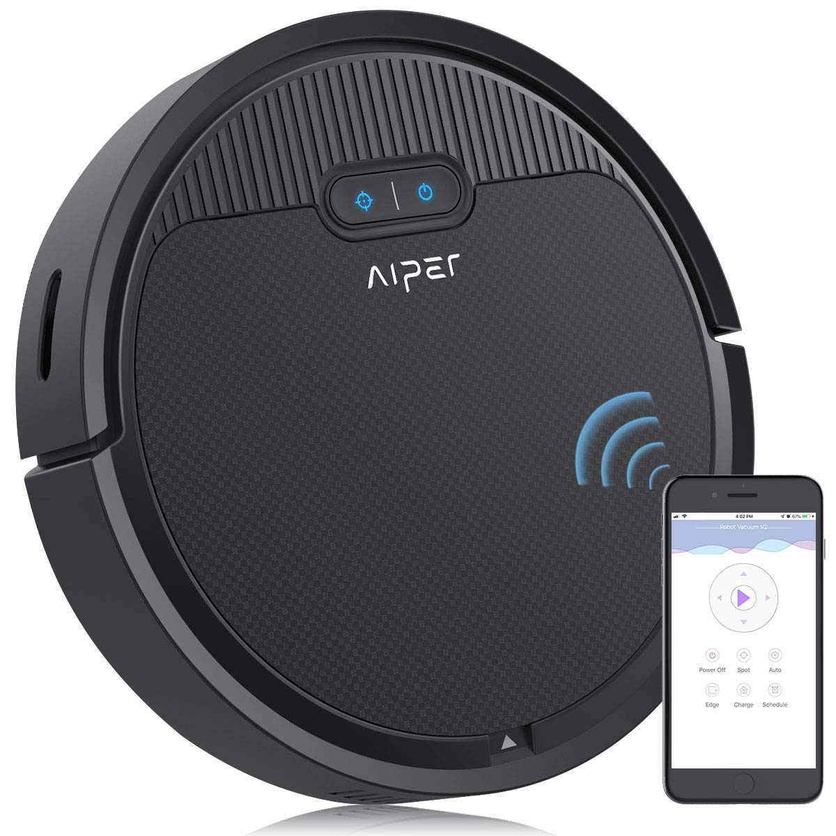 Aiper Robot Vacuum Cleaner With 1500pa Strong Suction
