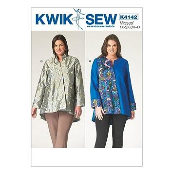 Kwik Sew Mustern K4142 OSZ 1 x-2 x-3 x-4 x Damen Jacke, Mehrfarbig ...