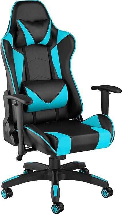TecTake 800728 Poltrona da Ufficio Sedia da Gaming Direzionale Girevole per Casa Studio Sportiva Racing Disponibile in Diversi Colori –