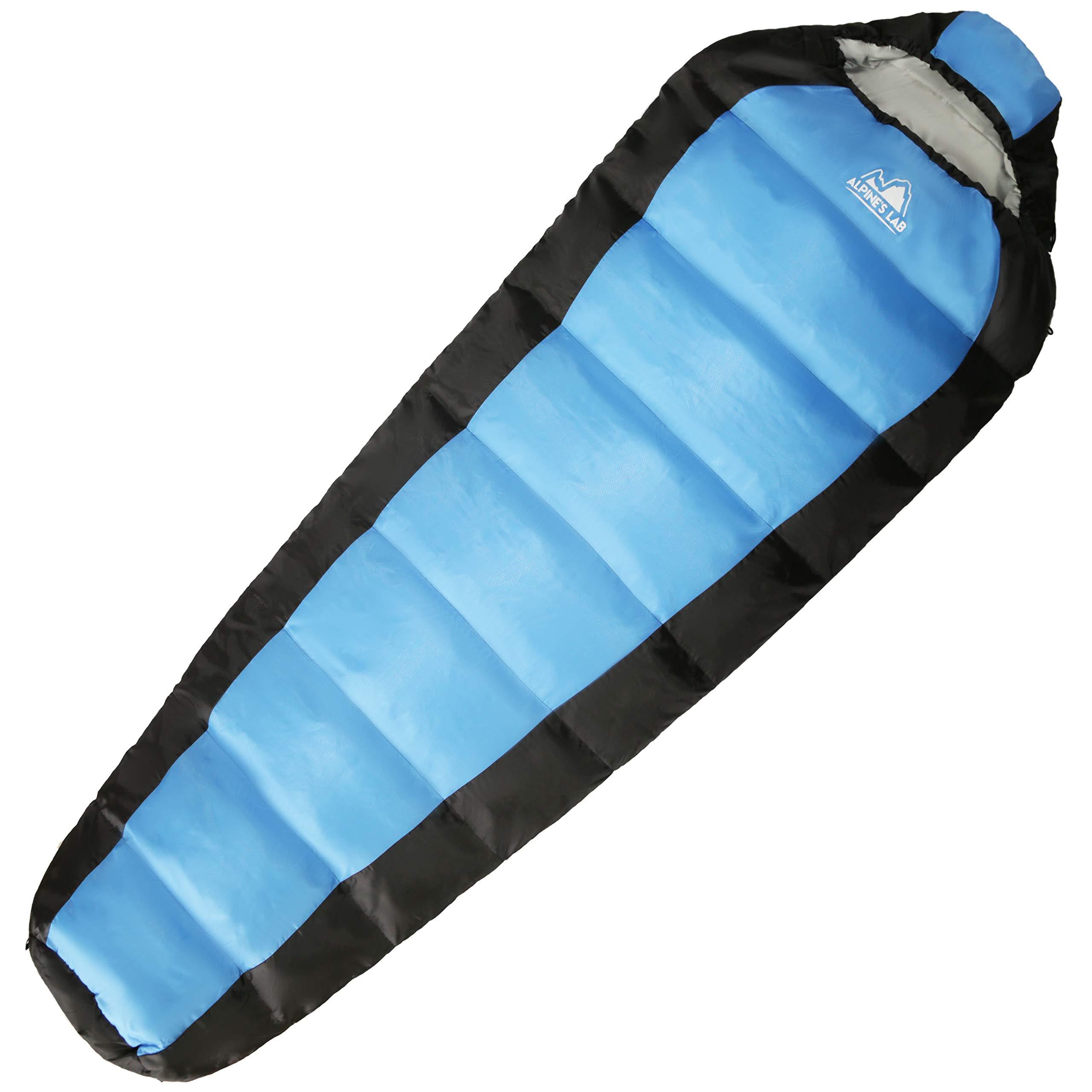 Alpines Lab Saco de Dormir tipo Momia para las 4 Estaciones Relleno Sintético 300gr/m2