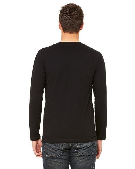 e91fa017e0c Bella + Canvas Unisex Jersey Long-Sleeve V-Neck T-Shirt - Wht Fleck TRIBLD  - XS - (Style # 3425 - Original Label) | Amazon.com