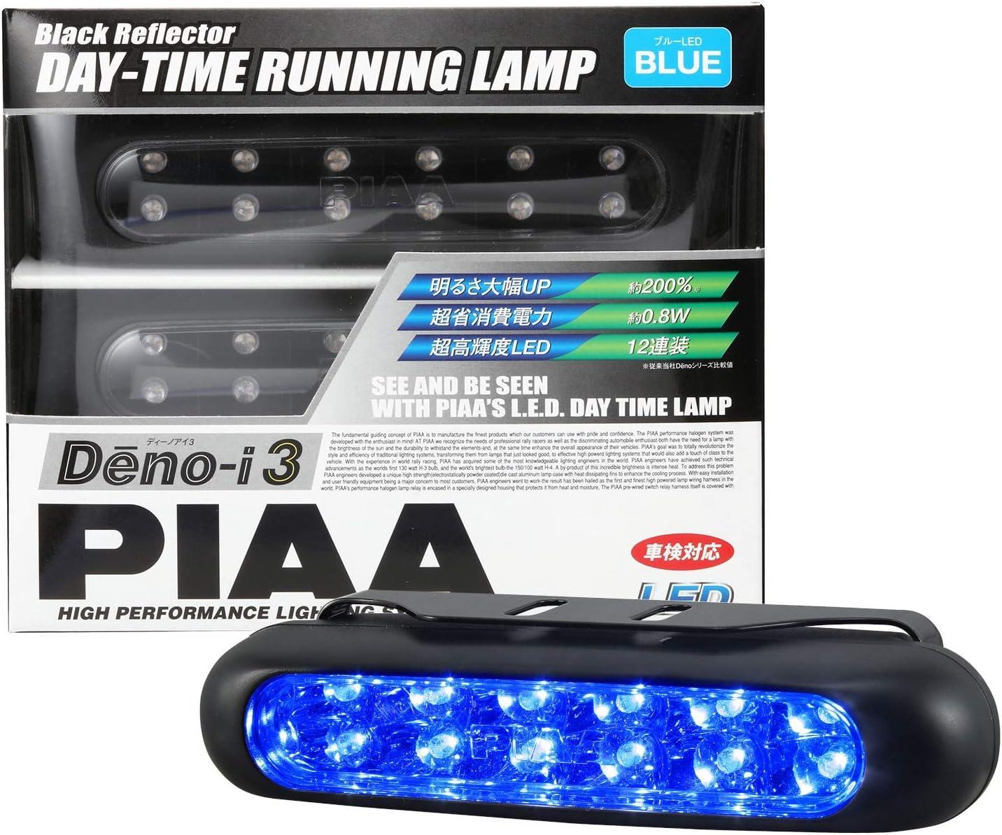 "77206 Black PIAA RF Series 6/"" LED Light Bar Fog Beam Kit"