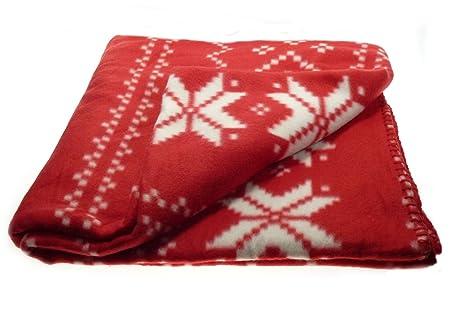 Christmas Fleece.Christmas Fleece Blanket 100 Soft Polar Fleece Festive Xmas